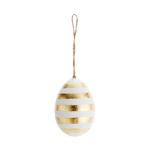 Hängande påskägg (guld)
