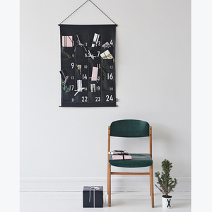 Christmas calender black - Design Letters