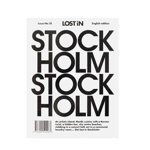 """Bok """"LOST iN Stockholm"""""""
