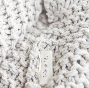 Knitted blanket - Tell me more
