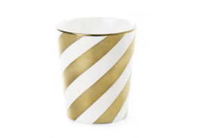 Mugg guld diagonal (ny modell)