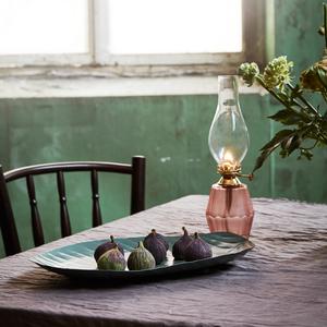 Fotogenlampa Ebba stor rosa mässing - Strömshaga