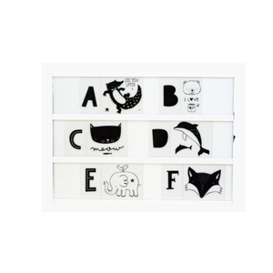 Lightbox symbolset - Kids ABC pack