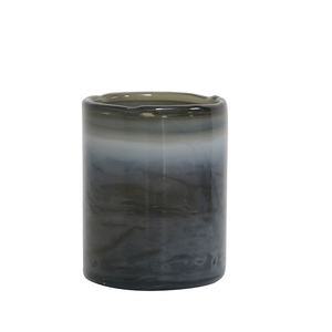 Tealight holder (blå/grå)