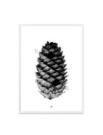 Poster Black Pinecone (50x70cm)