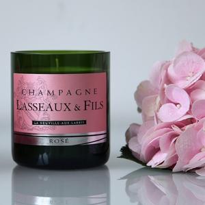 Doftljus - Champagne Lasseaux & Fils Rosé Candle