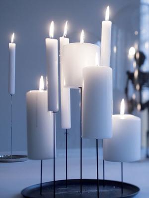 Ljusstake - Candle Pin (hög)