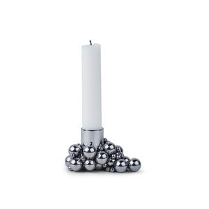 Ljusstake Molekyl silver - Gejst