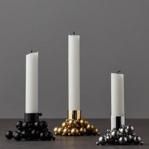 Gejst - Ljusstake Molekyl guld