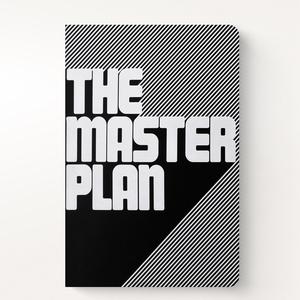 Anteckningsbok Graphic L master plan - Nuuna