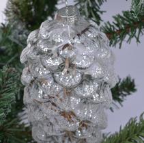 Julgranskula kotte klar m snö