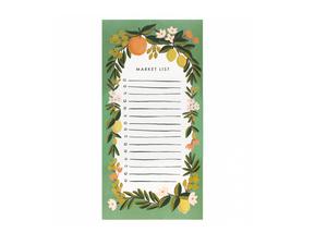 Shopping block - Citrus och Blommor