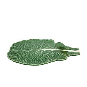 Cabbage Leaf  uppläggningsfat 39,5 cm - Bordallo Pinheiro