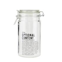 Förvaringsburk Optional content 900 ml - House doctor