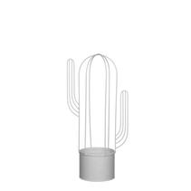 Kruka kaktus vit (mellan)