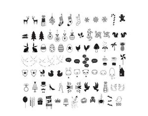 Lightbox Symbolset: Högtider