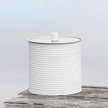 Utomhusljus large 15x15 cm - Ljusgrå