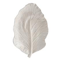 Leaf, 25 cm i benvitt - Bordallo Pinheiro