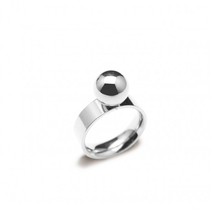 Ring Fresno (silver) - Bud to Rose
