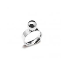 Ring Fresno (silver) - Bud to Rose