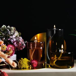 OLIE oljelampa (rosa) Hög - Eno Studio