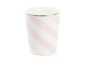 Mugg rosa diagonal (ny modell)
