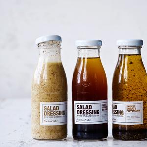 Salladsdressing vitlök, oregano & balsamico