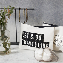 Makeup bag, Travelling - House Doctor