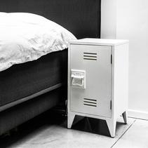 Sängbord vitt (2-pack) - HK Living