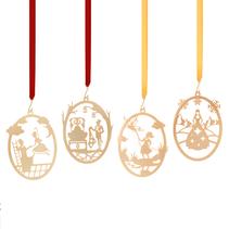 4 hänge äventyr oval (miniatyr) - H C Andersen
