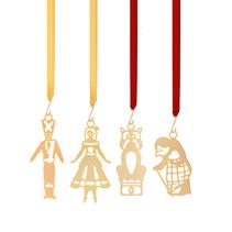 4 hänge äventyr (miniatyr) - H C Andersen