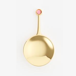 Serveringssked Stone (guld) från Frankrike