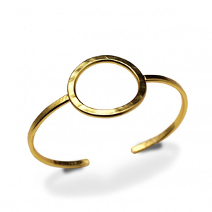 Armband solo bangle (guld) - Bud to Rose