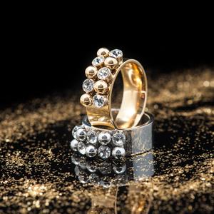 Ring Bazaar (guld) - Bud to Rose