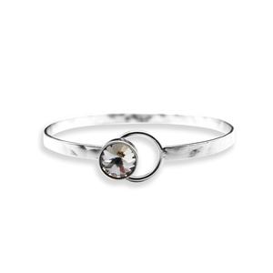 Armband Fransi (silver) - Bud to Rose