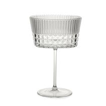 Lyxigt cocktailglas i plast