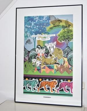 """Poster - Barntavlan """"Nu tiger ni"""""""