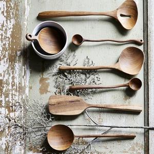 Wooden spatula - HK Living
