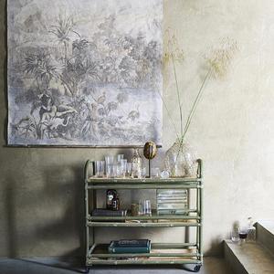 Glas carafe med palmer - Hk Living