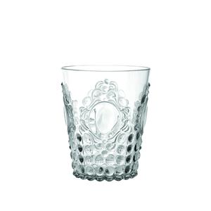 """Lyxigt vattenglas """"elegant"""" i plast - klar"""