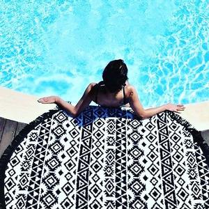 Handduk black summer