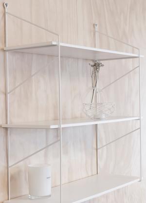 Hylla Halltorp vit (liten) - Storefactory