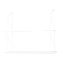 Hylla Halltorp vit (mellan) - Storefactory