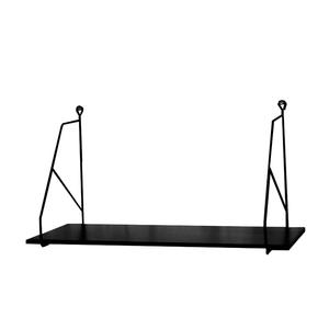 Hylla Halltorp svart (liten) - Storefactory