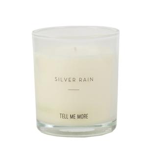 Doftljus silver rain - Tell me more