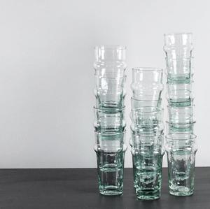 Mynta dricksglas Large