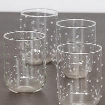 Glas med dots