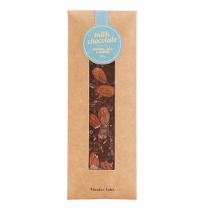 Mjölkchoklad karamell, salt & allmond - Nicolas Vahe